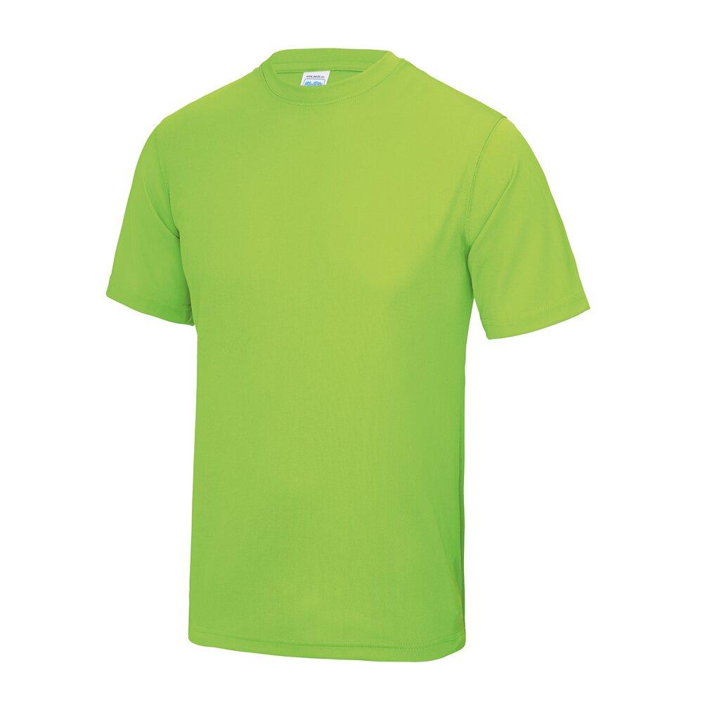 AWDis-Just-Cool-T-Shirt-Men-Polyester-gym-summer-sports-running-tee-XS-5XL thumbnail 15