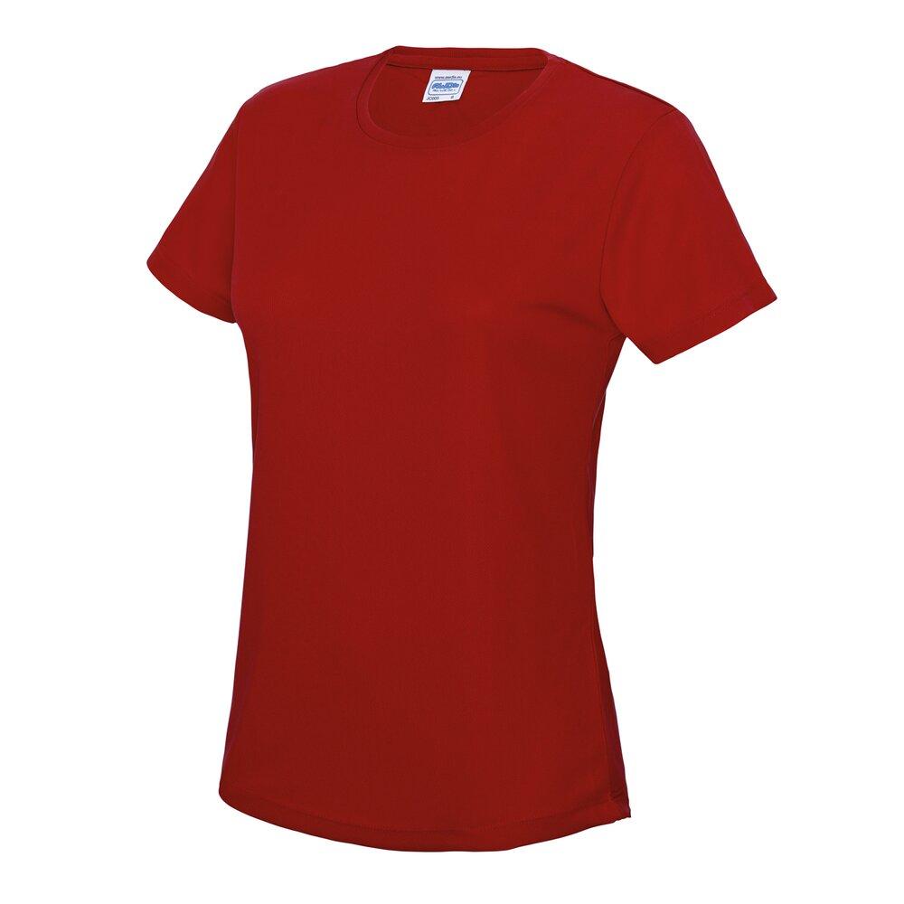 AWDis-Just-Cool-Girlie-Cool-T-Shirt-Damen-Polyester-Fitnessstudio-Sport-Running-Tee-8-18 Indexbild 14
