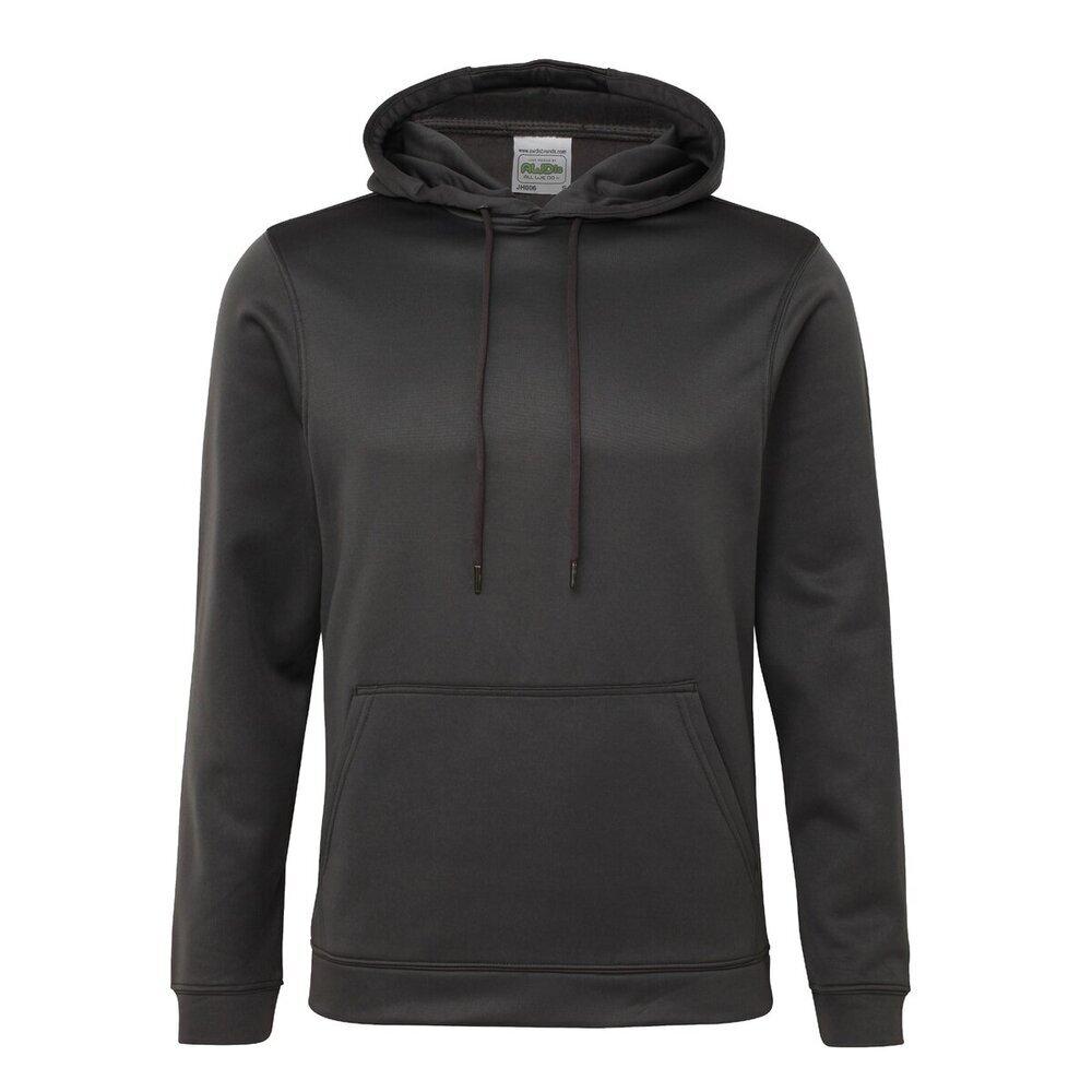 AWDIS-Sports-Polyester-Sweat-a-capuche-homme-Plain-Casual-ou-Gym-Sweat-a-Capuche-S-3XL miniature 15