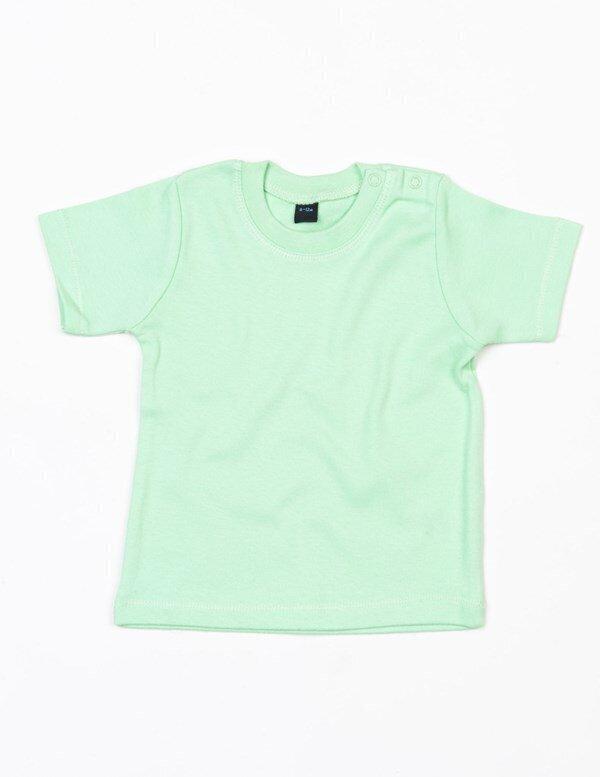 Toddler Plain Cotton Tee 0-24 Months BZ02 BabyBugz Baby T-Shirt Boys Girls