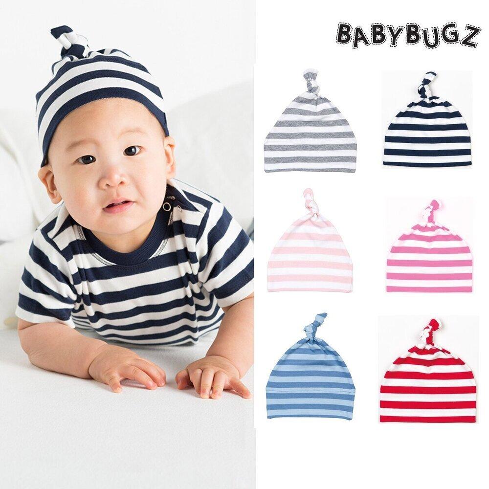Brillante Babybugz Baby Cappello A Righe (bz15s) Un Nodo Tinta Unita Caldo Cotone Beanie Ragazzi Ragazze-mostra Il Titolo Originale
