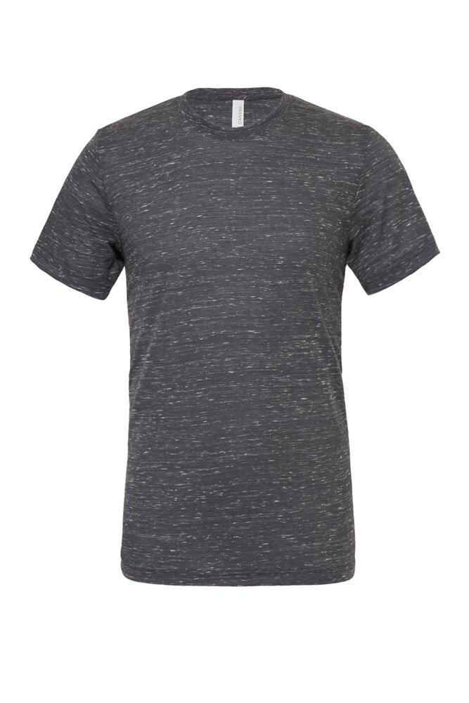 Crew Neck Fit Tee Bella Canvas Unisex Polycotton Short Sleeve T-Shirt 3650