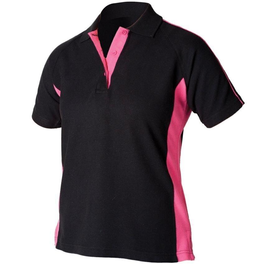 Finden-amp-Hales-Women-039-s-Sportswear-Polo-Shirt-LV323-Short-Sleeve-Cotton-T-Shirt thumbnail 4