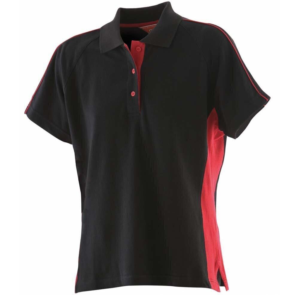 Finden-amp-Hales-Women-039-s-Sportswear-Polo-Shirt-LV323-Short-Sleeve-Cotton-T-Shirt thumbnail 5