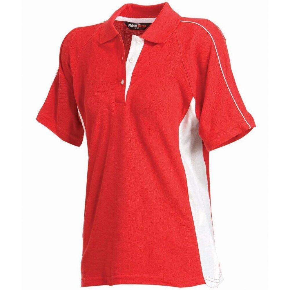 Finden-amp-Hales-Women-039-s-Sportswear-Polo-Shirt-LV323-Short-Sleeve-Cotton-T-Shirt thumbnail 7