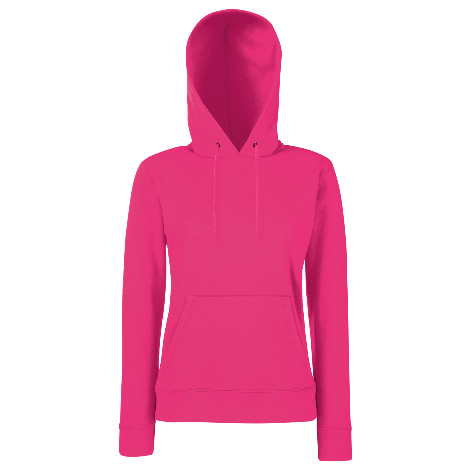 Fruit-of-the-Loom-Women-039-s-Hoody-Classic-pull-over-Lady-fit-Hooded-Sweatshirt