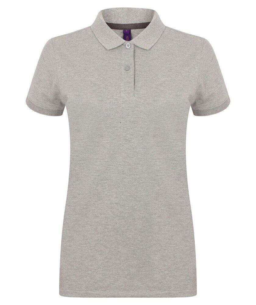 Henbury-Women-039-s-Micro-fine-Pique-Polo-Shirt-H102-Ladies-Short-Sleeve-Plain-Tee thumbnail 11