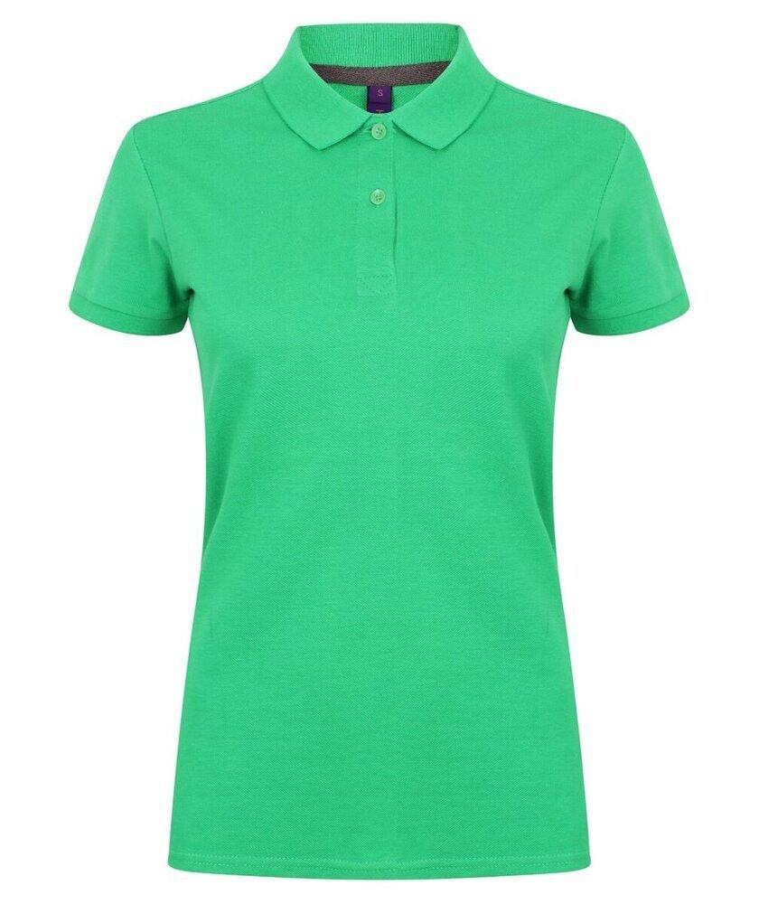 Henbury-Women-039-s-Micro-fine-Pique-Polo-Shirt-H102-Ladies-Short-Sleeve-Plain-Tee thumbnail 12