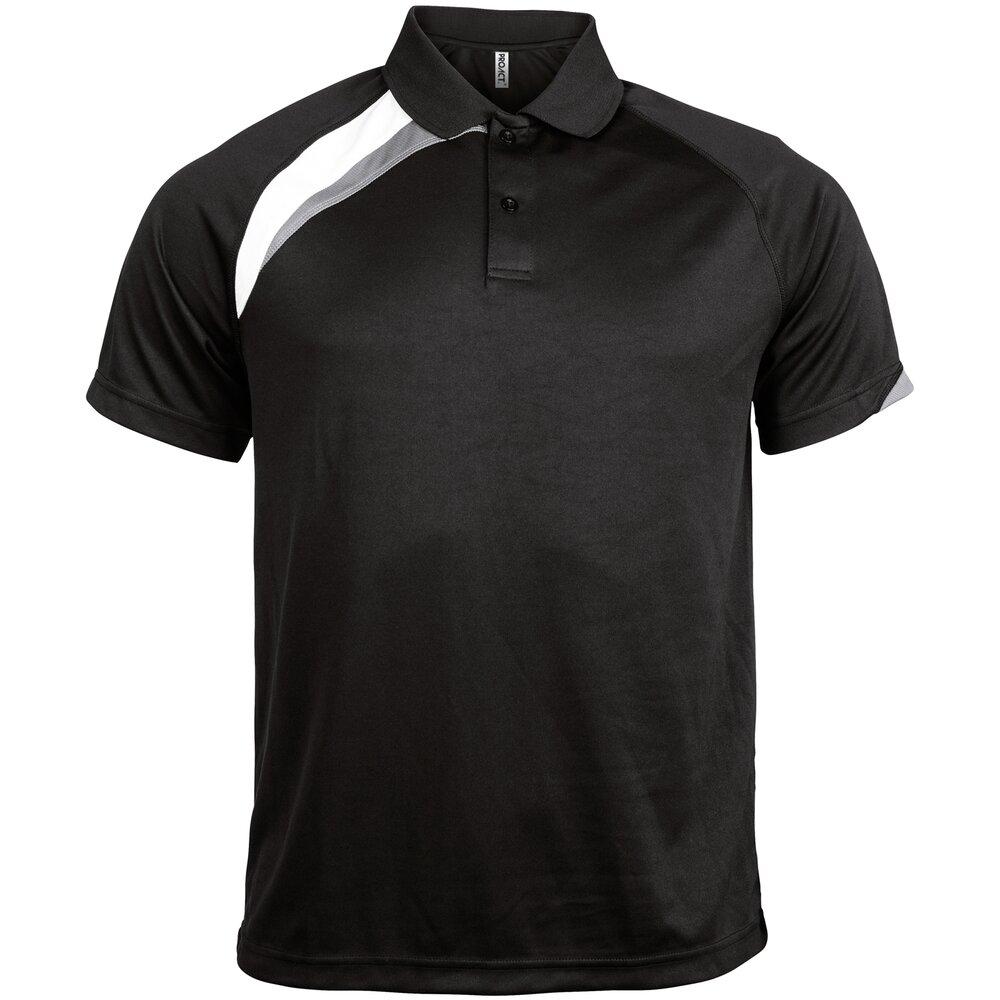 Kariban-Proact-Mens-Short-Sleeve-Polo-Shirt-PA457-Sports-Wear-Training-T-Shirt thumbnail 3