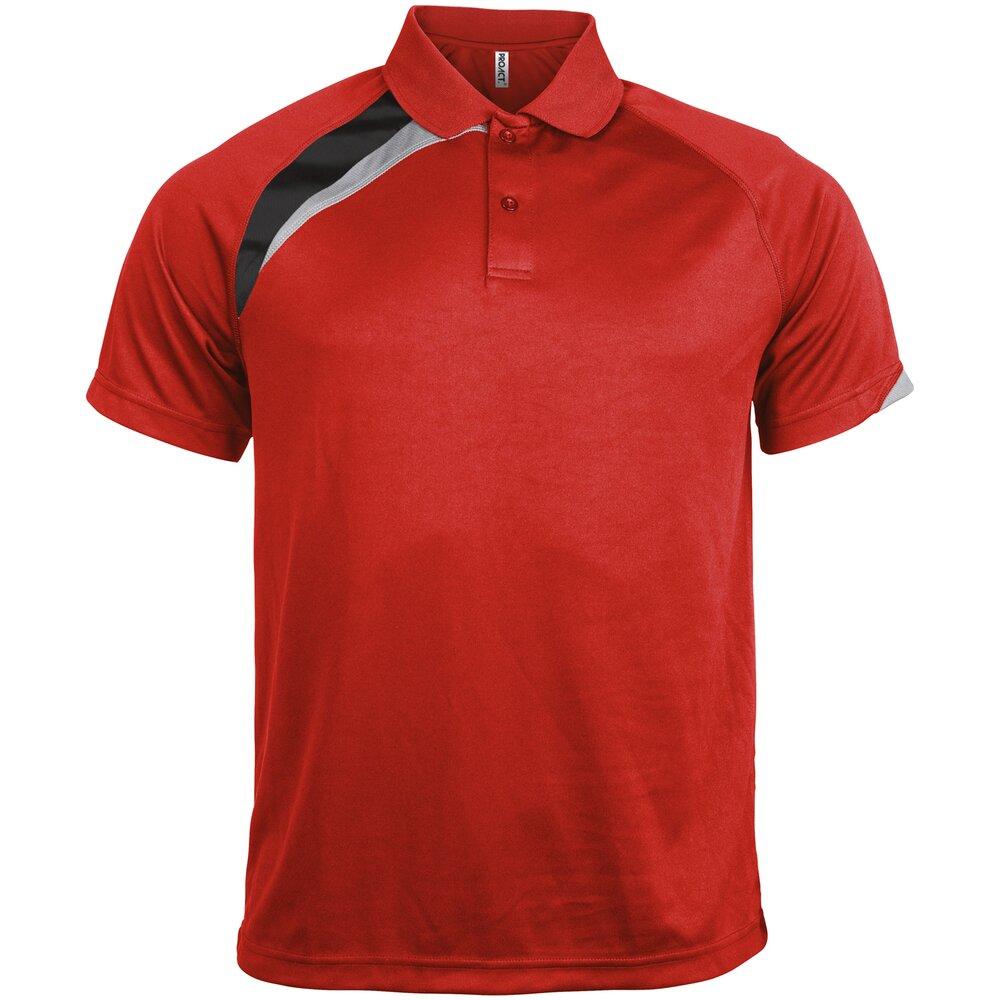 Kariban-Proact-Mens-Short-Sleeve-Polo-Shirt-PA457-Sports-Wear-Training-T-Shirt thumbnail 5