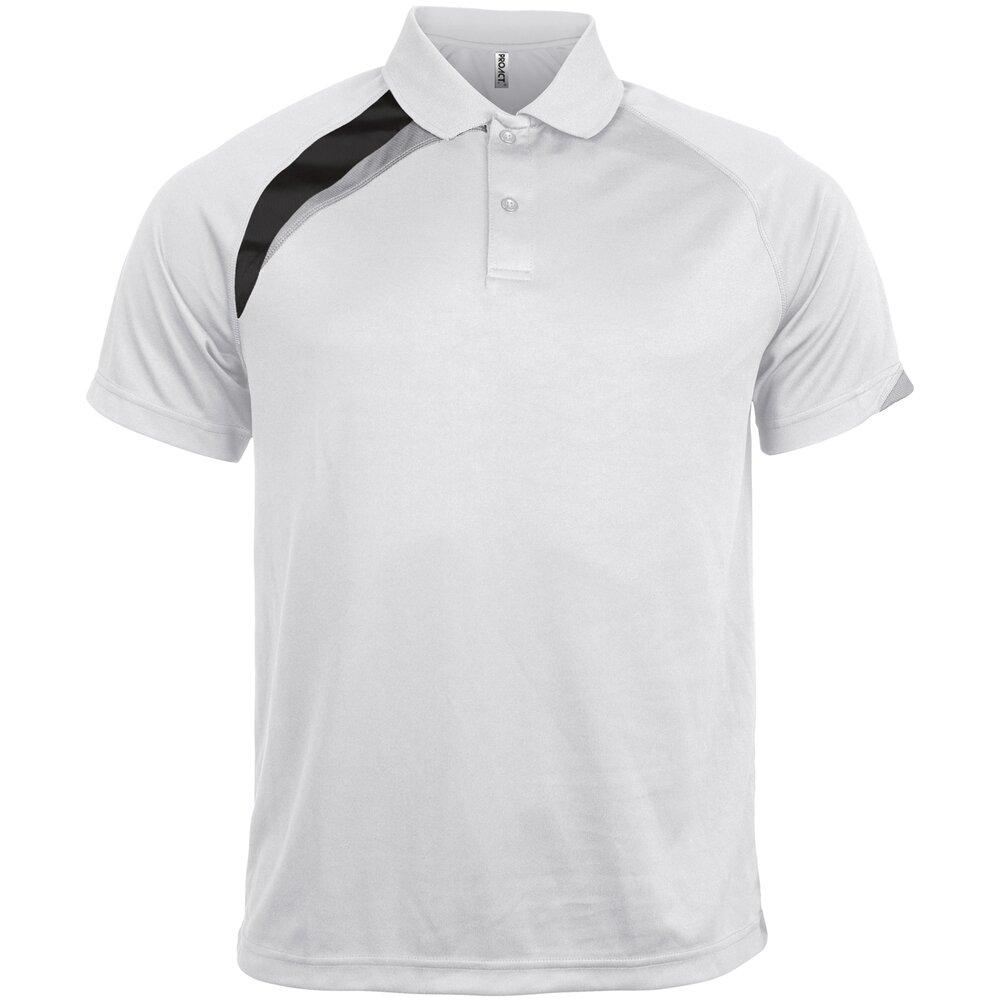 KARIBAN PROACT Da Uomo Manica Corta Polo PA457-SPORTS WEAR T-shirt di formazione