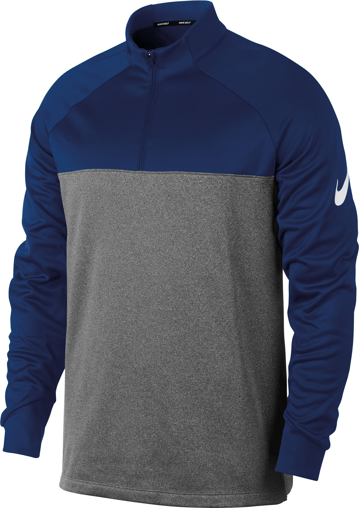 Nike-Herren-Therma-Fit-Half-Zip-Top-nk266-wasserabweisend-elastisch-Golf-TOP Indexbild 3