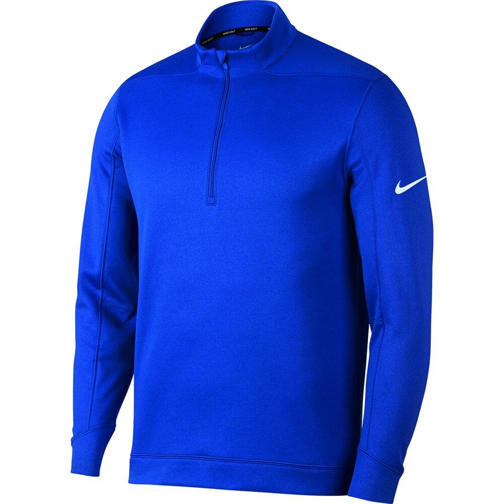Nike-Therma-RPL-Halber-Reissverschluss-Golf-Top-nk314-Longsleeve-wasserabweisend-TOP Indexbild 4