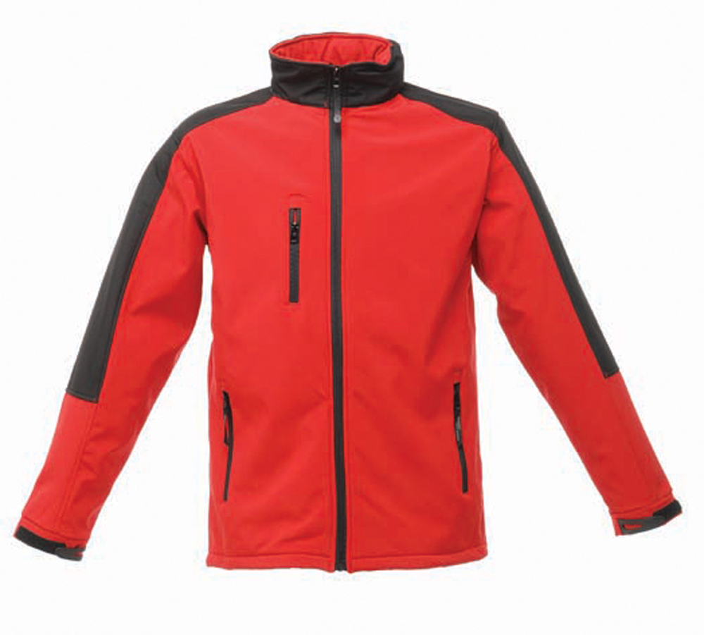 Regatta Mens Classic 3 Layer Softshell Jacket Red