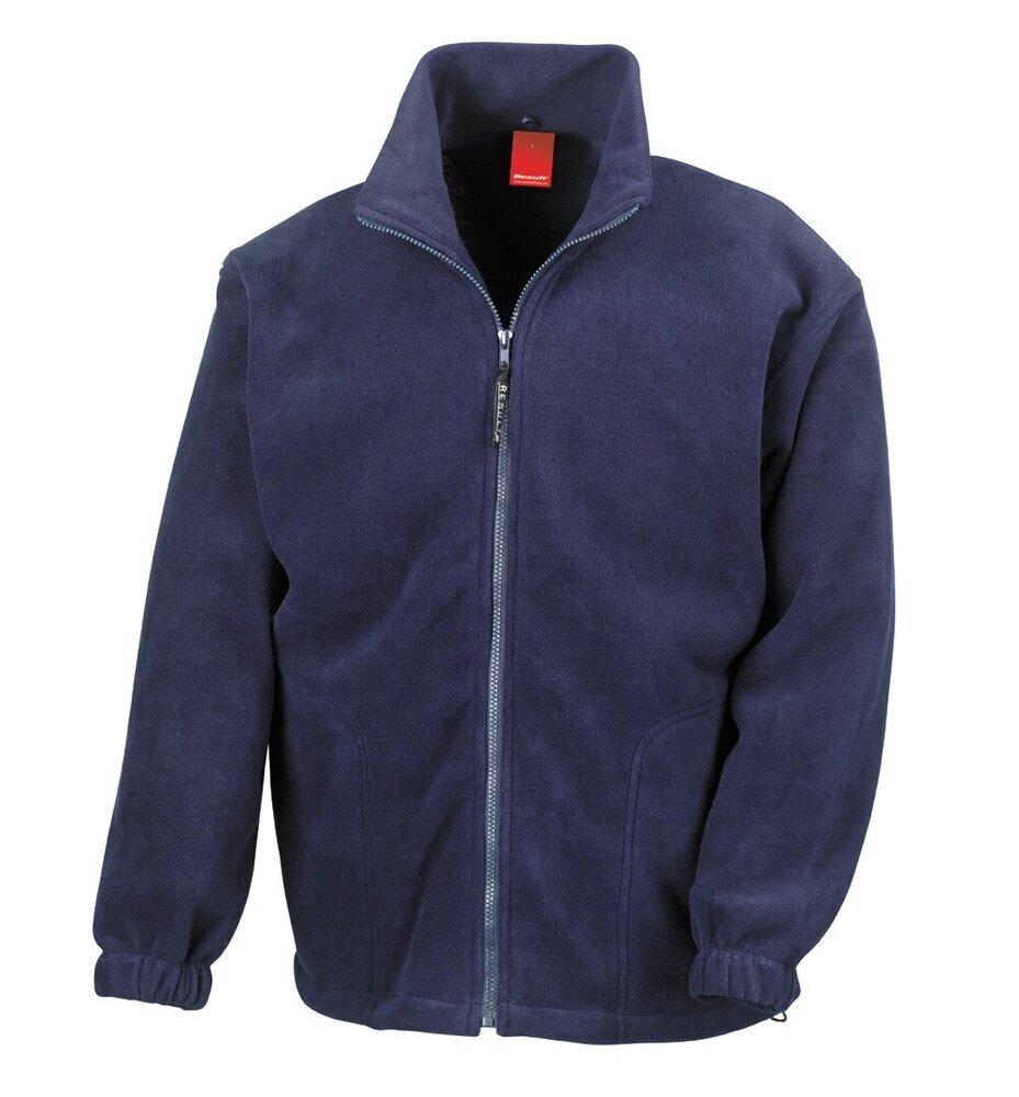 Result Homme Polyester Polartherm Veste Polaire R036X-Winter Outerwear Warm Coat