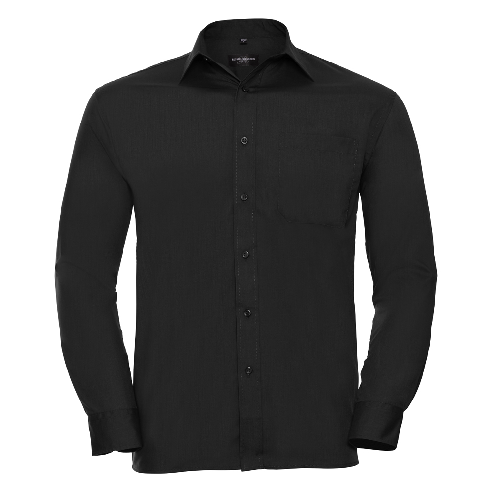 Russell-Collection-Popelina-Camisa-para-hombre-Manga-larga-R-934M-0-Camisa-de-trabajo-formal miniatura 5