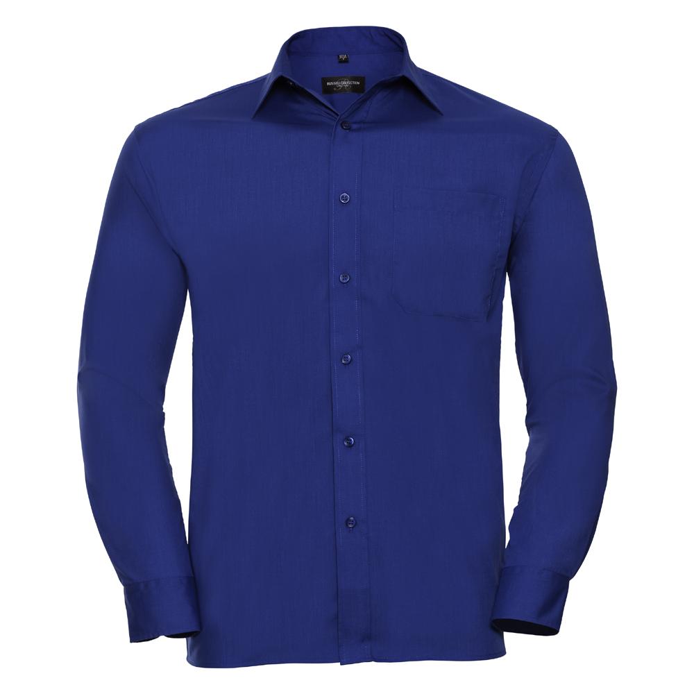 Russell-Collection-Popelina-Camisa-para-hombre-Manga-larga-R-934M-0-Camisa-de-trabajo-formal miniatura 7