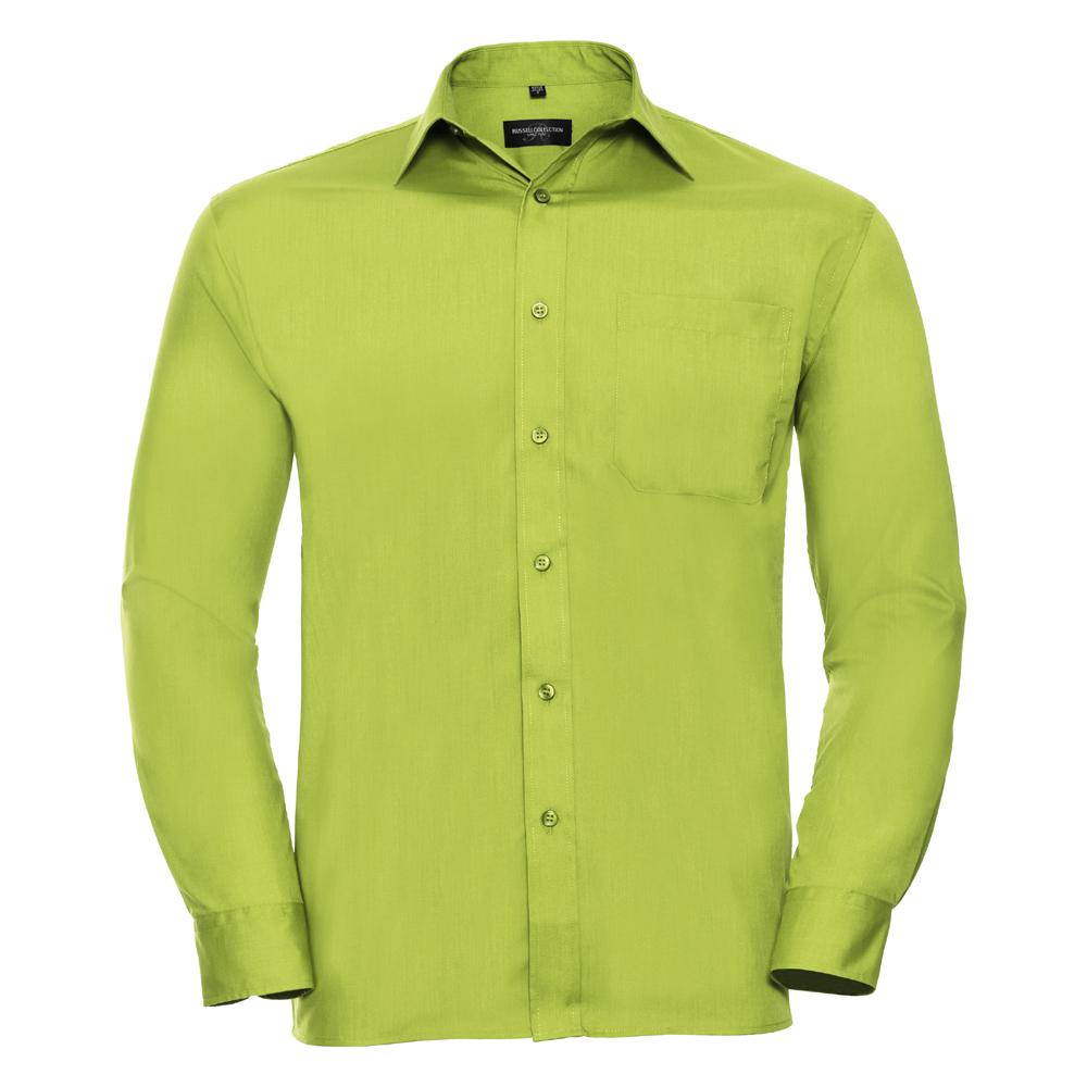 Russell-Collection-Popelina-Camisa-para-hombre-Manga-larga-R-934M-0-Camisa-de-trabajo-formal miniatura 12